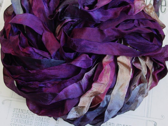 ALMOST GONE - CURRANT half inch wide ribbon, 4 yards