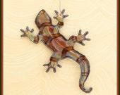 Southwest lizard - copper ornament