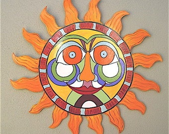Sun wall decor -  Let the sunshine in