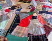 Vintage Lap or Carriage Blanket  Circa 1930s