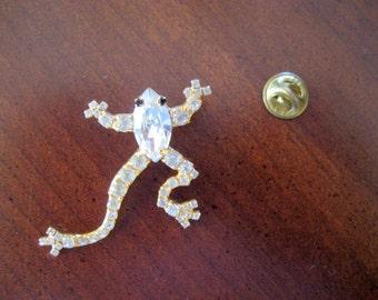 Vintage Dorothy Bauer Frog Pin Circa 1980s