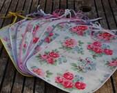 Cath Kidston Oilcloth Bib (Floral/Rose design)