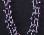 Three-Stranded Necklace (10-13) ON HOLD FOR KATHLEEN