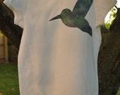 CLEARANCE HUGE SALE Girl / Toddler / Baby Hummingbird Bird Shirt