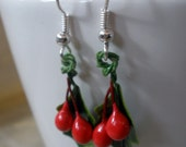 Holly Holiday Earrings