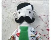 Monsieur Fournier - Kitch Kitchen - Rag Doll Soft Toy