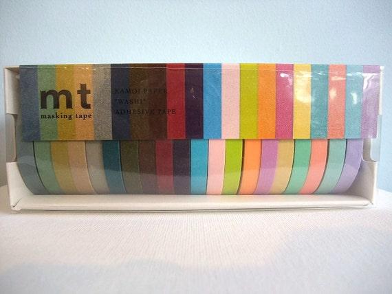Japanese Masking Tape Pack of 20 - 7mmx15metres