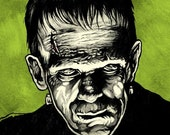 The Monster 8.5 x 11 Art Print