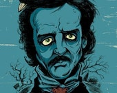 Poe 8.5 x 11 Art Print