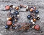 Indigo Butterfly Bracelet