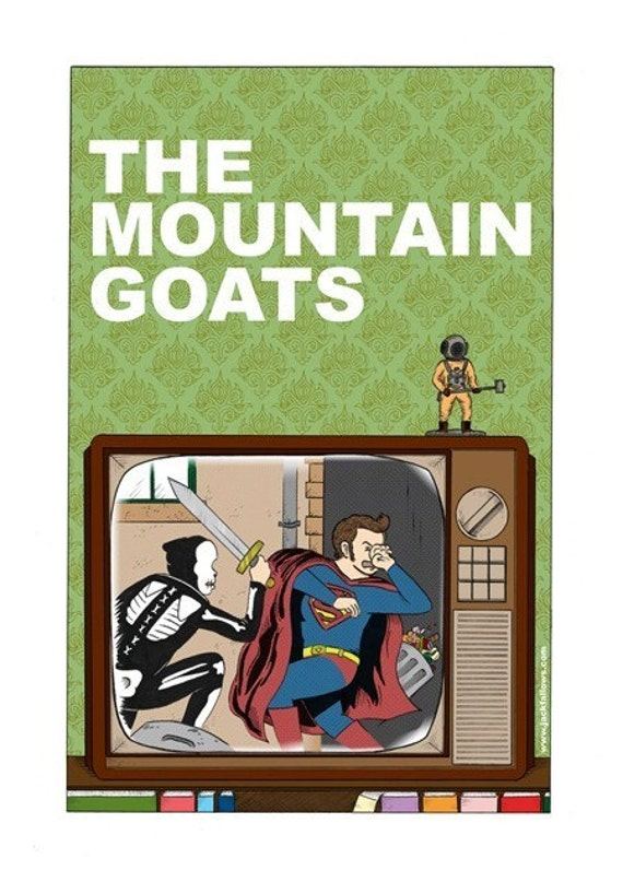 The Mountain Goats LARGE Poster/Print