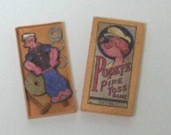 Popeye Ring Toss Game - 1/12th scale
