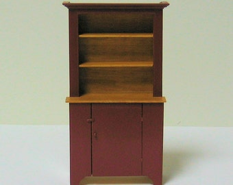 Step Back Cupboard - 1/12th scale