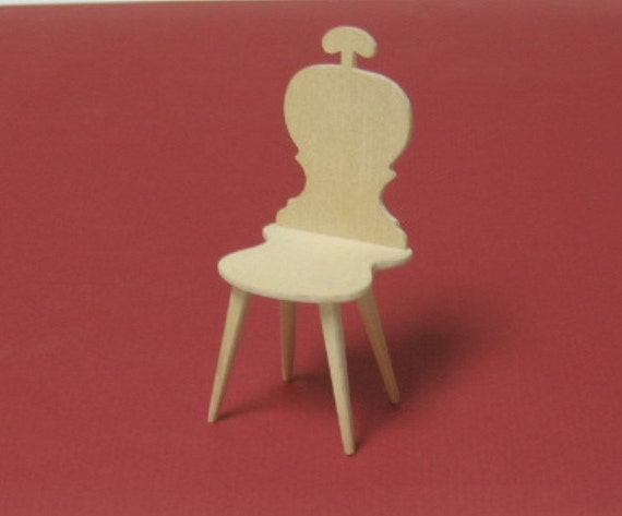 miniature chair for you to decorate