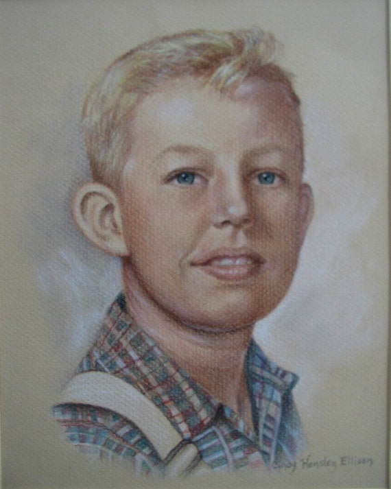 Realistic Pastel Portrait from your Photo