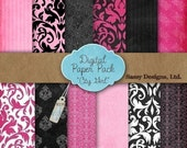 Digital Paper Pack - (City Girl)