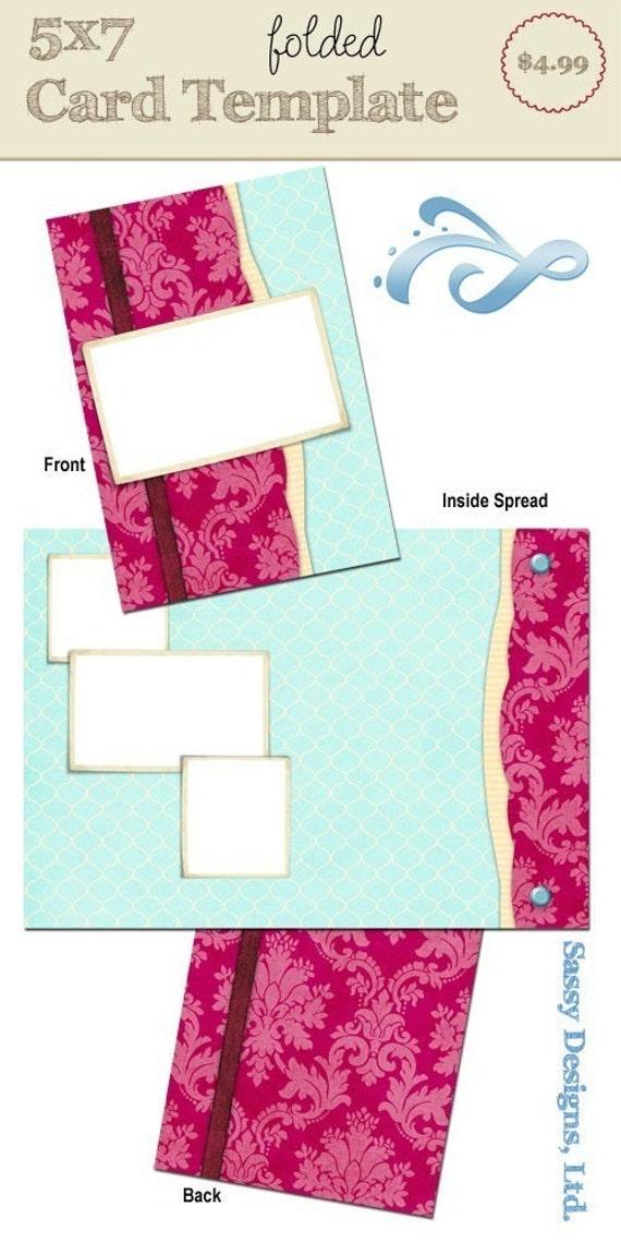5x7 folded card template fancy pants. Black Bedroom Furniture Sets. Home Design Ideas