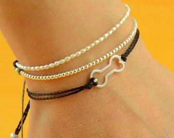 Bone bracelet-Sterling silver