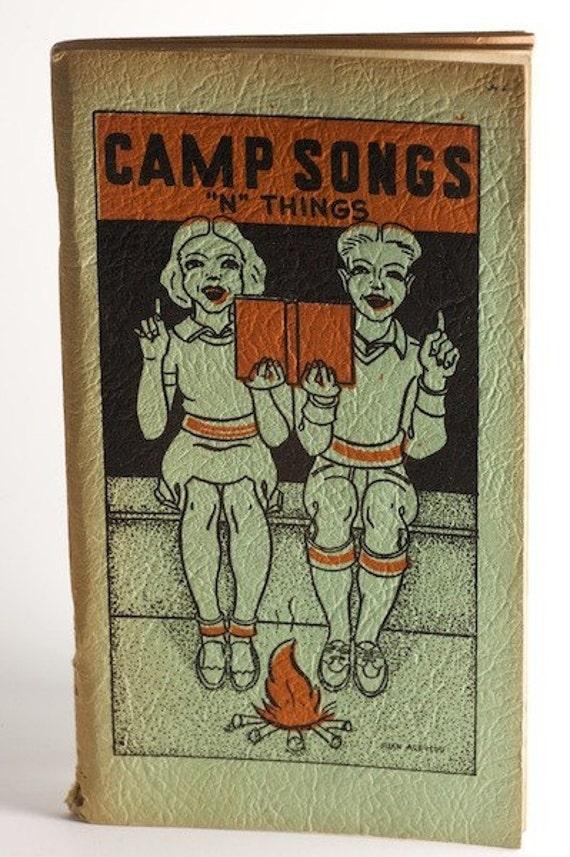 Camp Songs N Things booklet