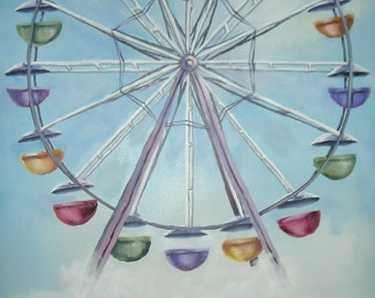 The Ferris Wheel Painting
