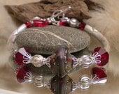 Lampwork Bracelet LOVERLY