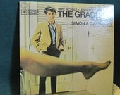 Simon & Garfunkel - The Graduate  Record   The Original Sound Track Recording   LP 1979