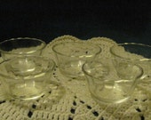 Vintage 5 FireKing Custard/Dessert Dishes  6 oz size