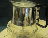 Vintage Silex Percolator Glass 8 Cup Coffee Pot