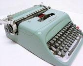 Reserved for xarene - Vintage Underwood Olivetti Studio 44 Portable Typewriter