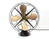 Refurbished Vintage Robbins & Myers Oscillating Electric Fan