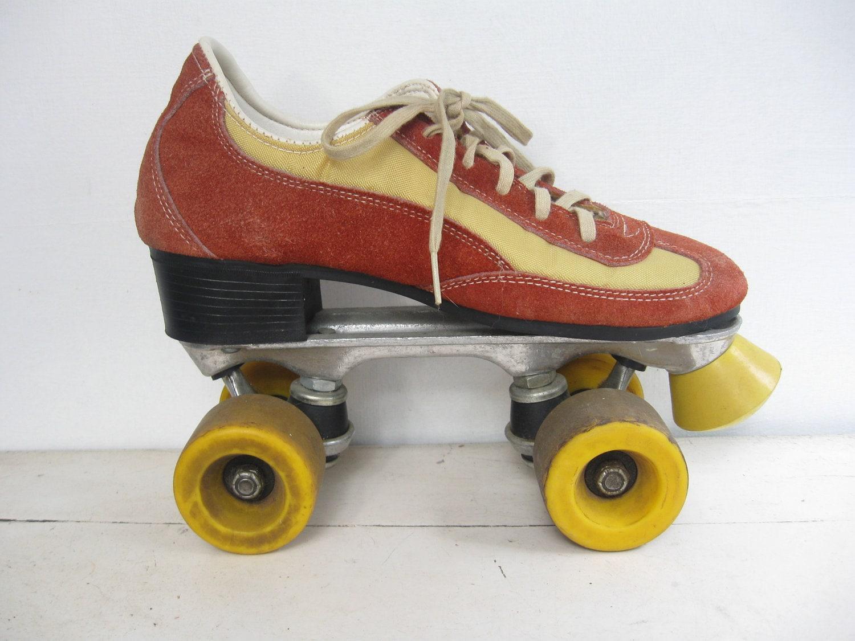 vintage car hop roller skates 1960 39 s ladies sz 7. Black Bedroom Furniture Sets. Home Design Ideas