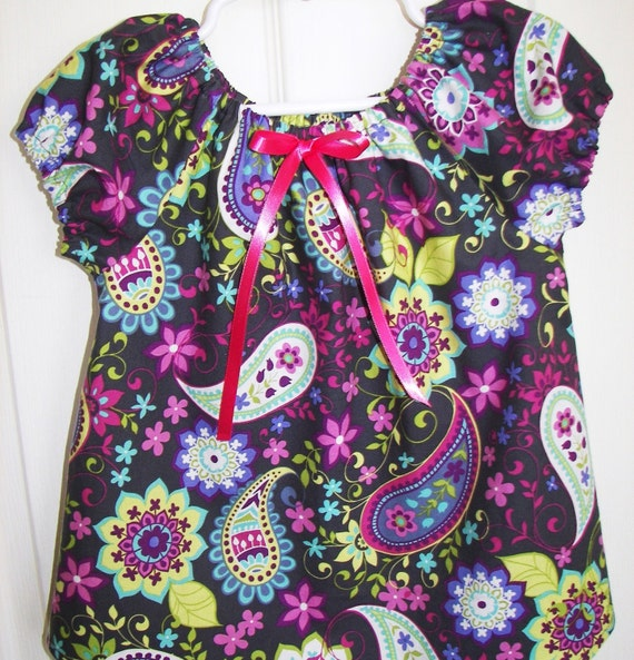 Big Sister Top... Matches Mommy Chic Hospital Maternity Gown and bringing home baby gowns...Size 5