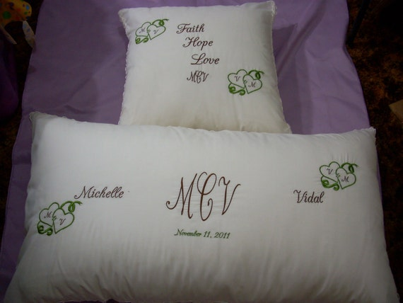 Items Similar To Wedding Kneeling Pillows Need A Pillow To