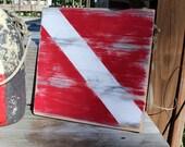 Dive Sign Vintage Style Nautical Home Decor Nautical Nursery Beach Sign