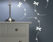 Dragonfly vinyl wall decals