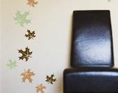 Falling Leaves Wall Decals maple leaf design Set of 30 leaves Matte Finish Vinyl