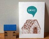 Home gocco print - LAST ONE