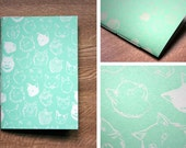 Cat notebook (mint only) - LAST ONE