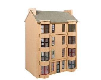 Scottish Tenement Model Kit - Blonde sandstone