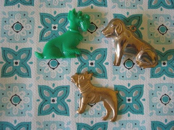 3 Fun Dog Charms