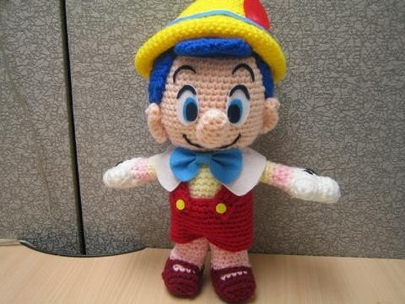 Pinocchio au crochet pinocchio in hook for Pinocchio hat template