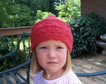 Child's Hand Knit Hat