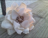 Handmade Flower of the Month subscription. Every Month a New one of a kind Handcrafted Flower for one year.