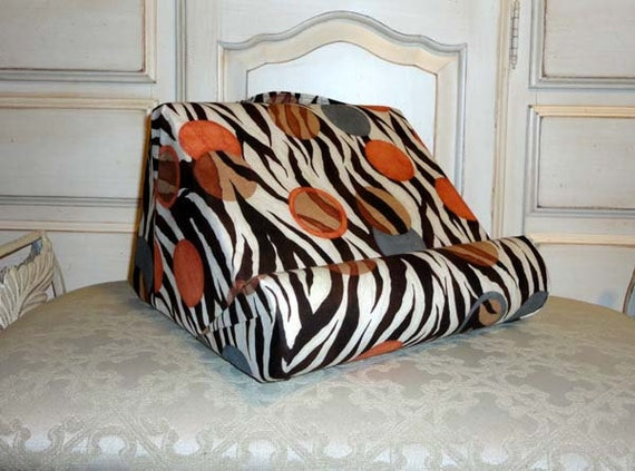Cozy Padded Book Holder for Your Lap But Has many Uses In Many Places
