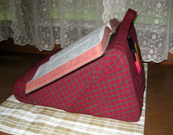 Book Holder Pillow For Your Lap Desk Kitchen Bed