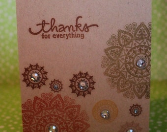 Thank You Card (Set of 4)