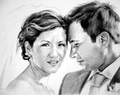 Wedding and Anniversary Portraits - Comission a custom portrait from your favorite photograph