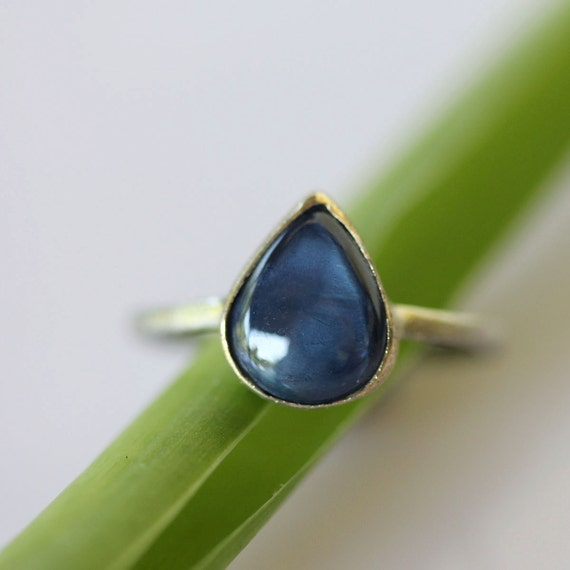 Star Sapphire In 14K Gold Ring - Ready To Ship