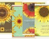 Sunflower Cards for Linda 2-28-10