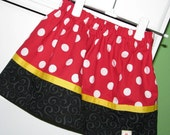 ALL SKIRTS - Buy One Get One 50% Off - Minnie Me Twirl Skirt - sizes newborn - Girls 8